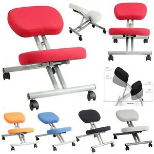 Adjustable Kneeling Stool Chair Ergonomic Orthopaedic Posture Seat Home Office.