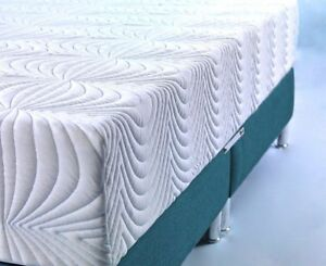 "CoolBlue Memory Foam Mattress All Sizes Available 8"" or 10"" Depth"