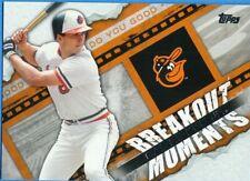 2014 Topps Breakout Moments #BM-11 Cal Ripken Jr Baltimore Orioles Baseball Card