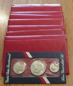 1976 Silver Uncirculated Mint Set Bicentennial US Mint 10 Set 200th Anniversary