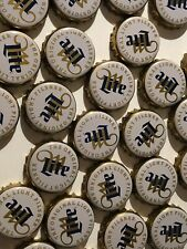 105 MILLER LITE BEER BOTTLE CAP TOPS JEWELRY PONG GAME DRINKING CRAFTS NO CRAFT