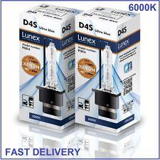2 x D4S LUNEX XENON LÁMPARAS BOMBILLA compatible con XenEco 42402 Xenarc 66440
