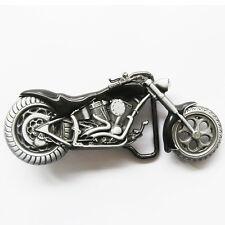 Moto BOUCLE DE CEINTURE VINTAGE BIKE CHOPPERS boucle de ceinture motard 141 BL