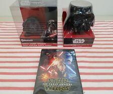 Darth Vader Ihome Speaker-Coffee Mug- And Dvd The Force Awakens By Disney