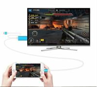 Lightning To AV HDMI/HDTV TV Cable Adapter for Apple iPhone 6/7/8/X/XS/XR/XS MAX
