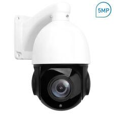Outdoor PTZ IP Camera 5MP Super HD 2592x1944 Pan/Tilt 30x Zoom Speed Dome
