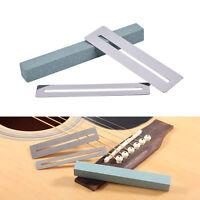 2pcs guitar fretboard fret protector + fretwire sanding neck polish luthier 5HUK