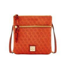 Dooney & Bourke Signature Double Zip Crossbody Shoulder Bag