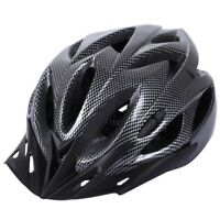 Carbon Bicycle Helmet Bike MTB Cycling Adult Adjustable Unisex Safety Helme Y3J3