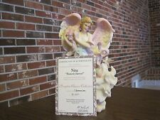 "1998 SERAPHIM CLASSICS ANGEL NINA ""HEAVENLY HARVEST""  ITEM #81491"