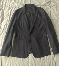 New Men's Dolce Gabanna Melange Wool/Cashmere Blend 2 Button Blazer US 38/EU 48