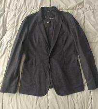New Men's Dolce Gabanna Melange Wool/Cashmere Blend 2 Button Blazer US 38/EU 48