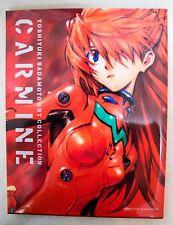 CARMINE Yoshiyuki Sadamoto Illustration Art Book EVANGELION JAPAN ANIME