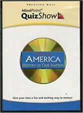 Prentice Hall America: History Of Our Nation: MindPoint Quiz Show PC MAC CD game