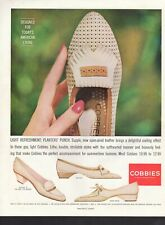 Vintage advertising print ad FASHION Shoe Red Cross Cooling Gay Light COBBIES 61