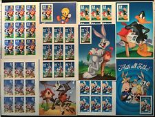 ALL 5 LOONEY TOONS SHEETS COMPLETE SET #3137 3204 3306 3391 3534 VF MNH