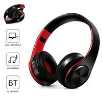 Bluetooth 4.0 Cuffie Wireless Auricolari Stereo MP3 Con SD Slot HI-FI Cellulare