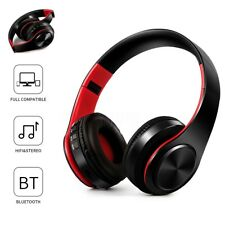 Bluetooth 4.0 Cuffie Wireless Auricolari Stereo MP3 Con SD Slot HI-FI Cellulare