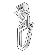 Gardinengleiter, Click-gleiter, Klick-Gleiter für Aluminiumschienen HC32