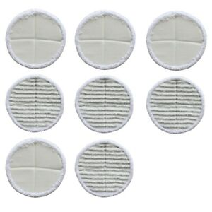 8Pcs Replacement Spinwave Mop Pads 13122 13129 13151 13139 Part 2124 For Bissell