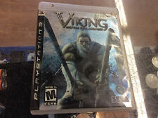Viking: Battle for Asgard (Sony PlayStation 3, 2008) Case Wear! Complete!