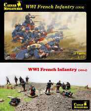 CAESAR MINIATURES 1/72 WWI Fanteria Francese (1914) # 034