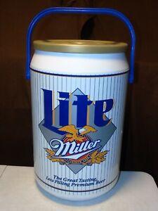 Vintage Miller Lite Beer Can Cooler Tailgate Kooler Kraft USA 40 Cans VTG 1996