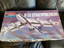 Monogram 1/72nd scale Boeing B52 Stratofortress 1973 issue. Complete in box