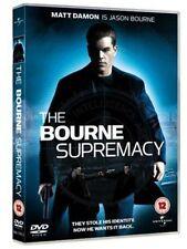 The Bourne Supremacy DVD - Matt Damon-Region 2,Fast Free Shipping