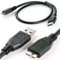 1x USB 3.0 Data Cable Cord Line Fit For WD My Passport Ultra Portable Hard Drive