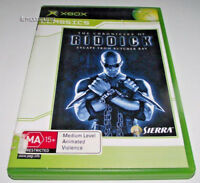 Chronicles of Riddick Escape From Butcher Bay Xbox Original PAL *Complete*