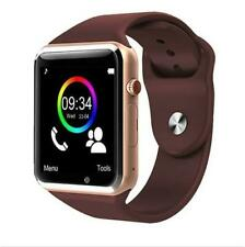 Smart Watch for Android iPhone Pedometer TF Card Phone Call text Camera sim st