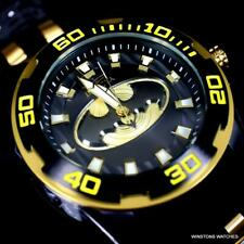 Invicta DC Comics Batman Pro Diver Scuba Black 50mm Limited Edition Watch New