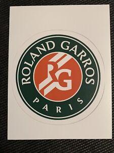 "Roland Garros French Open Logo Tennis Sticker 2.8""  Decal Paris RG Major Rafa"