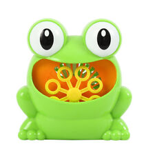 Frog Battery Operated Automatic Bubble Machine Maker For Kids Indoor Outdoor