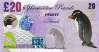 2017 Penguin Series 🐧 SNARES PENGUIN 🐧 20 Spheniscidae Pounds 🐧 Private Issue