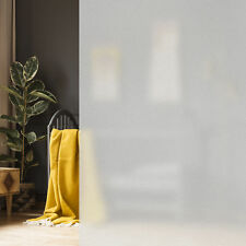 Milchglasfolie 90x200cm Fensterfolie Sichtschutzfolie Türfolie statisch haftend