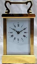 8-Day Vintage French Antique Mantel & Carriage Clocks