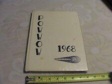 1968 Eastern Iowa Community College Yearbook Muscatine Iowa School Pow Wow