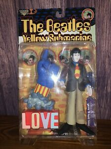 "The Beatles Yellow Submarine ""Paul with Glove & Love Base"" Figure 1999"