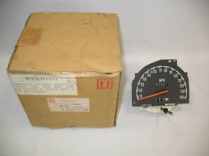 New OEM 1992-1993 Isuzu Stylus Speedometer Cluster Body Assembly Meter Gauge