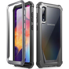 Samsung Galaxy A50 2019 Rugged Clear Case,Poetic® Shockproof Bumper Cover Black