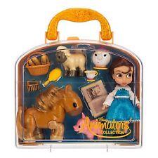 Disney Store Belle Mini Animator Doll Beauty Beast BNWT Mrs Potts Carry Case