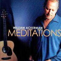 William Ackerman : Meditations - Lifescapes CD