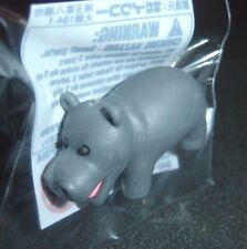 Hippo Official Authentic iwako Japanese Kawaii Novelty Wild Animal Eraser NEW
