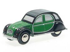 Schuco Piccolo citroen 2 CV verde-negro # 450151500