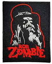 ROB ZOMBIE Top Hat Heavy Metal Embroidered Iron On Patch Badge