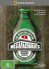 The National Geographic - Megafactories - Beer Collection (2015)  Brand new D82