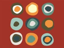 Red Abstract Art Posters