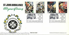 1987 St John Ambulance - Arlington SW1 Official